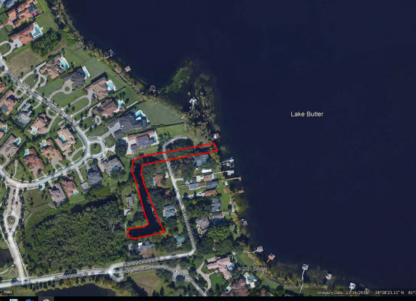 Lake Butler Treatment Area
