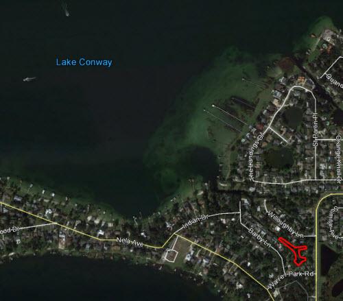 Lake Conway Map