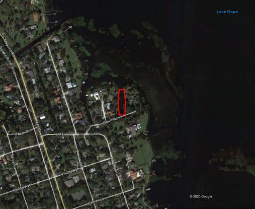 Lake Down Map
