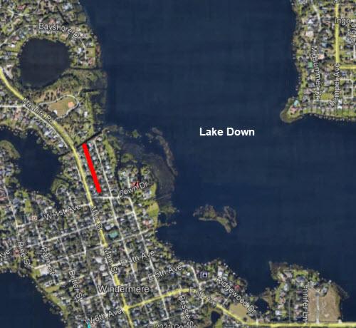 Lake Down Treatment Area