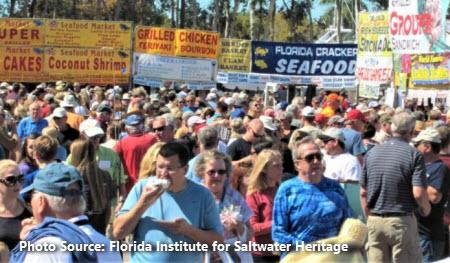 FISH festivalgoers