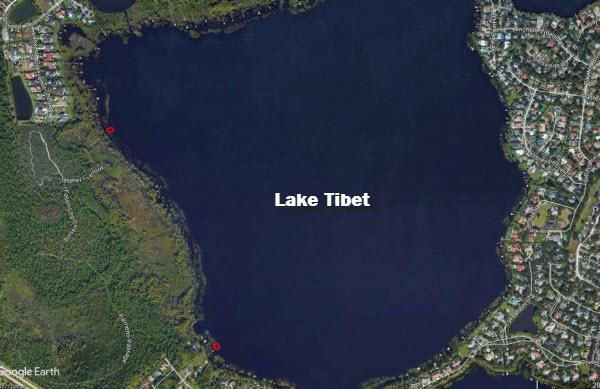Tibet treatment areas